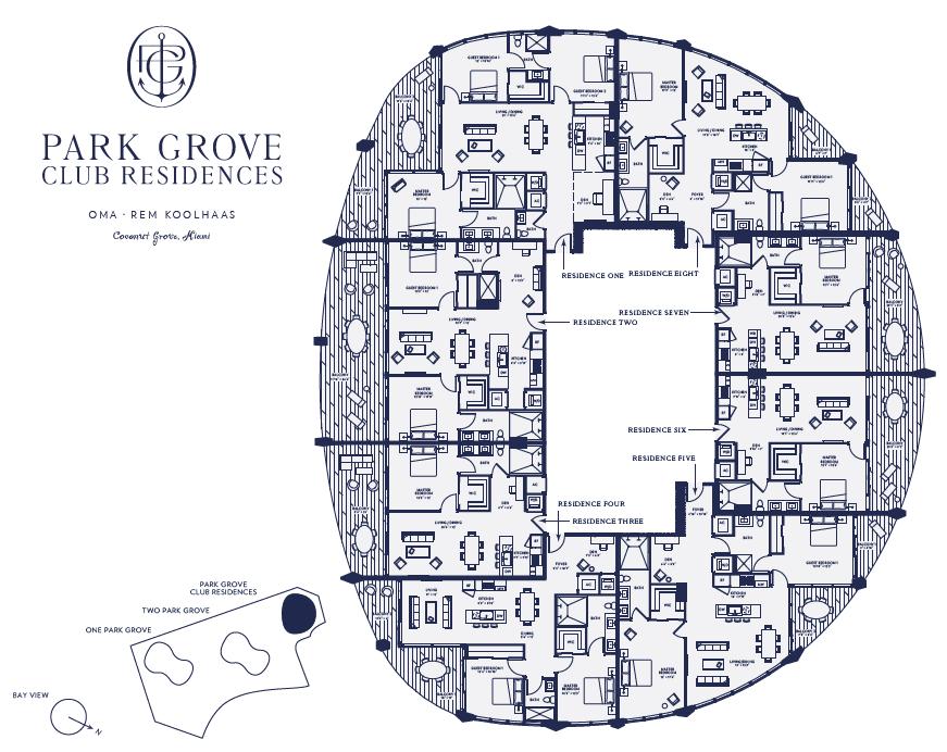 club-residences-key-plan