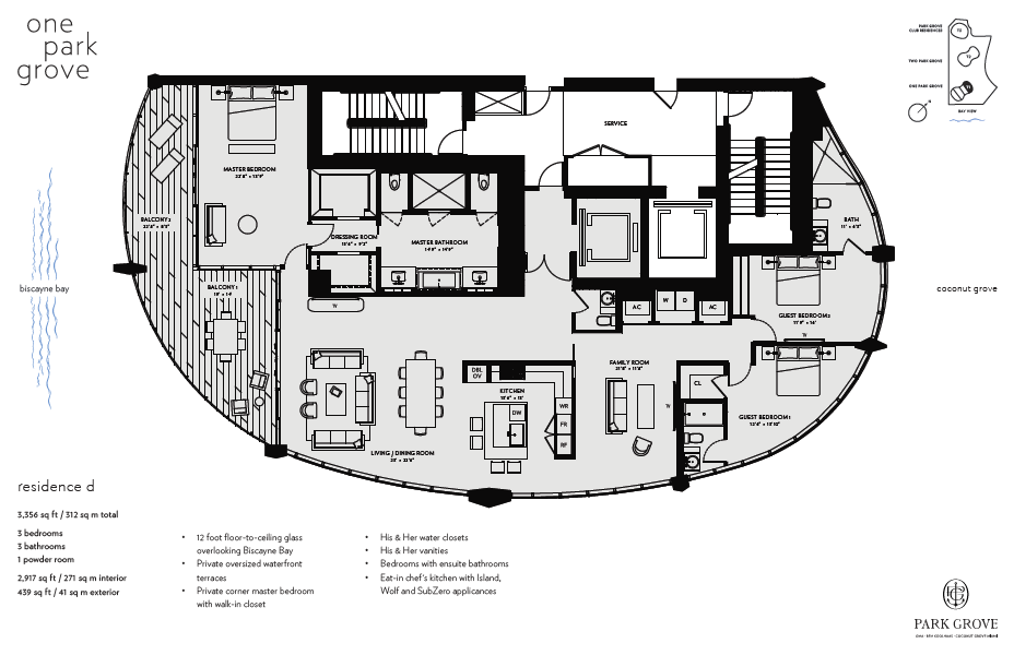Click to view Floor Plan for Residence D